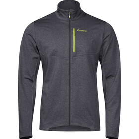 Bergans Fløyen Fleece Jacket Herren solid dark grey/sprout green